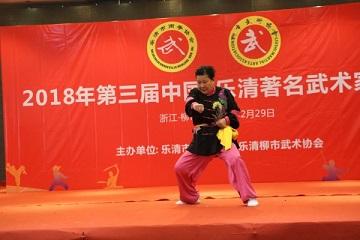 第三届中国・乐清著名武术家展演在乐清柳市举行