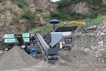 乐清市首家公司采用先进技术对建筑垃圾再生利用变废为宝